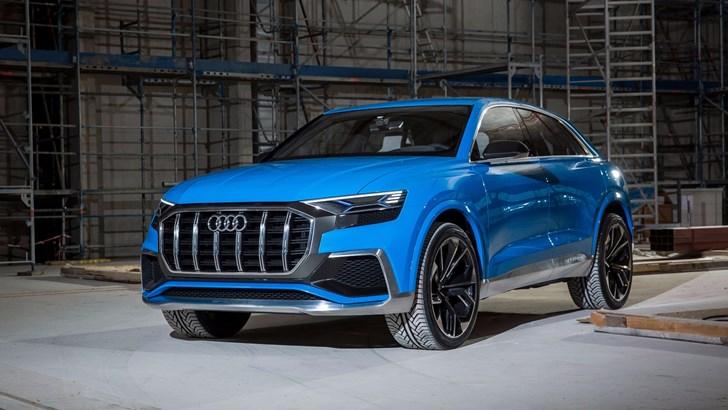 News Geneva Debut Set For Audi S Hot Rs Q8 Concept Carshowroom Com Au