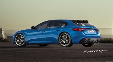 Alfa Romeo Axes Plans For Giulia Sportwagon