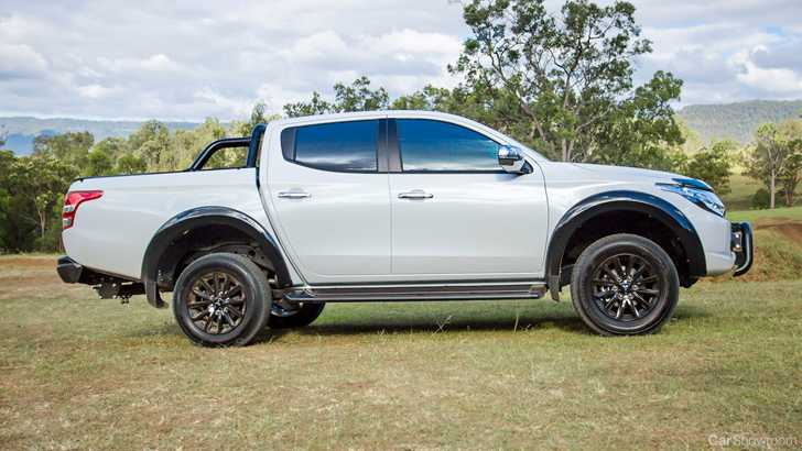 Mitsubishi Triton Paint Colour W