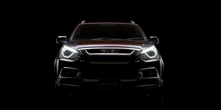 2017 Isuzu MU-X Teased Ahead Of Debut