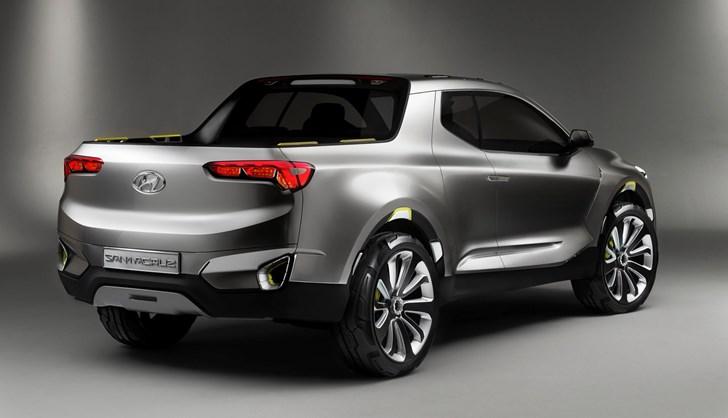 2016 Hyundai Santa Cruz Concept