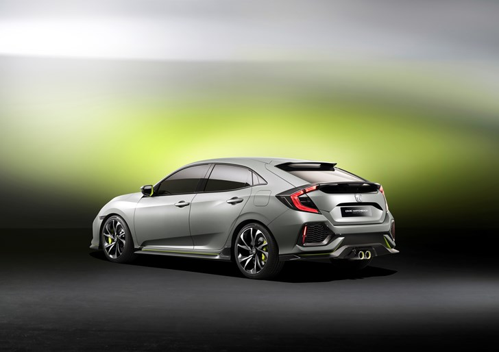 2016 Honda Civic Type R Prototype