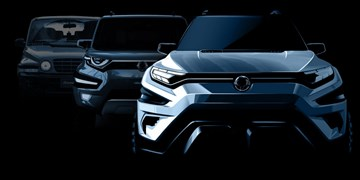 Ssangyong Teases 7-Seater XAVL Concept