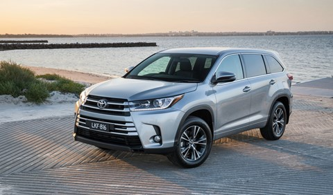 2017 Toyota Kluger Detailed: Japanese Bruiser Gains Revisions