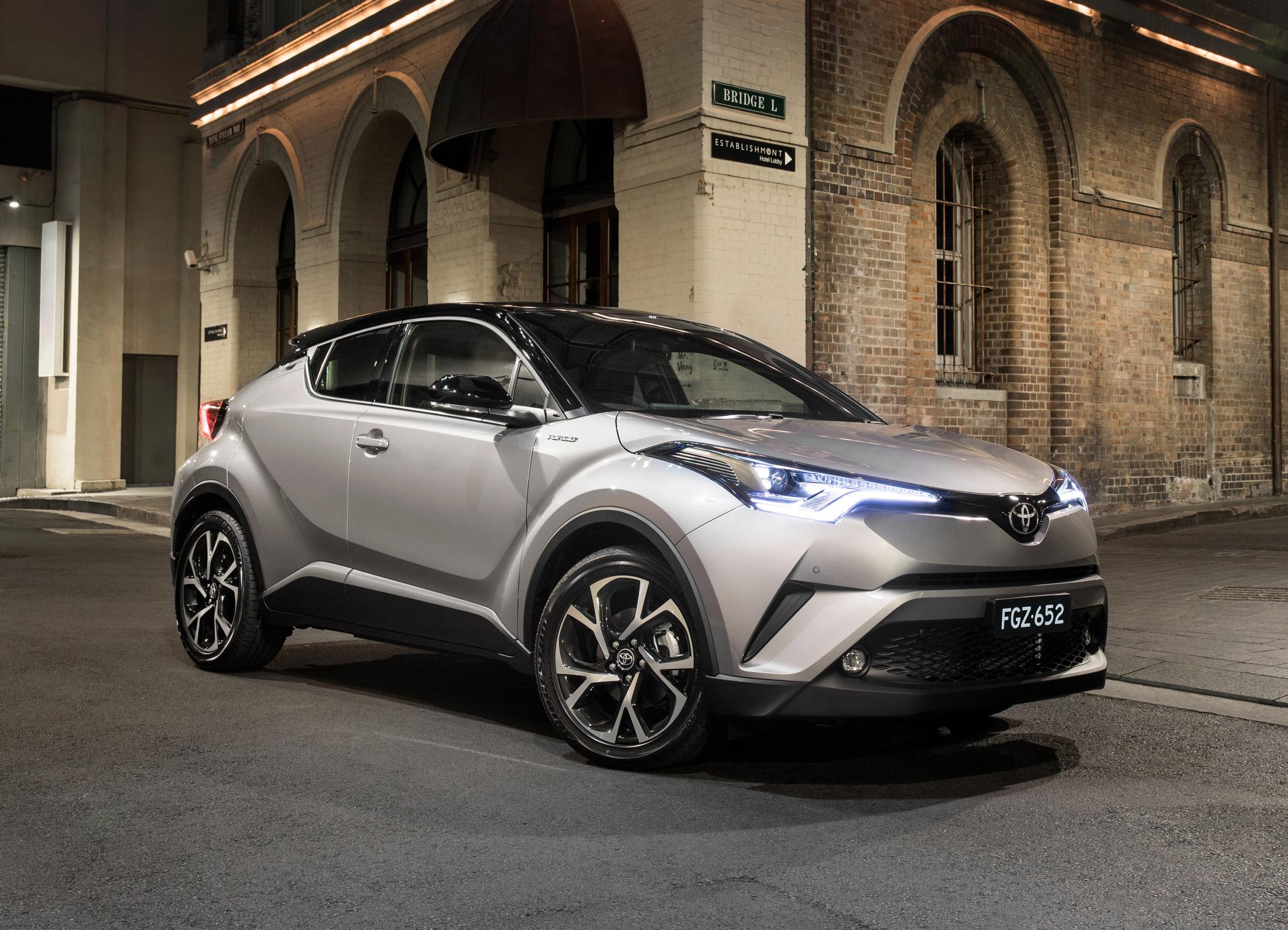 Toyota Chr Price >> News - Toyota C-HR Arrives Down Under, Pricing & Specs ...