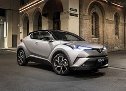 Toyota C-HR Arrives Down Under