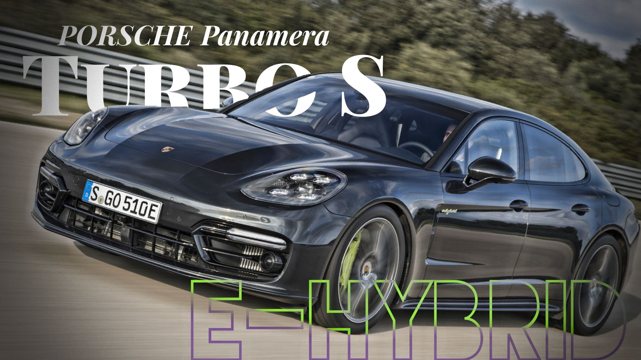 Panamera Turbo S E-Hybrid Is New Porsche Saloon King