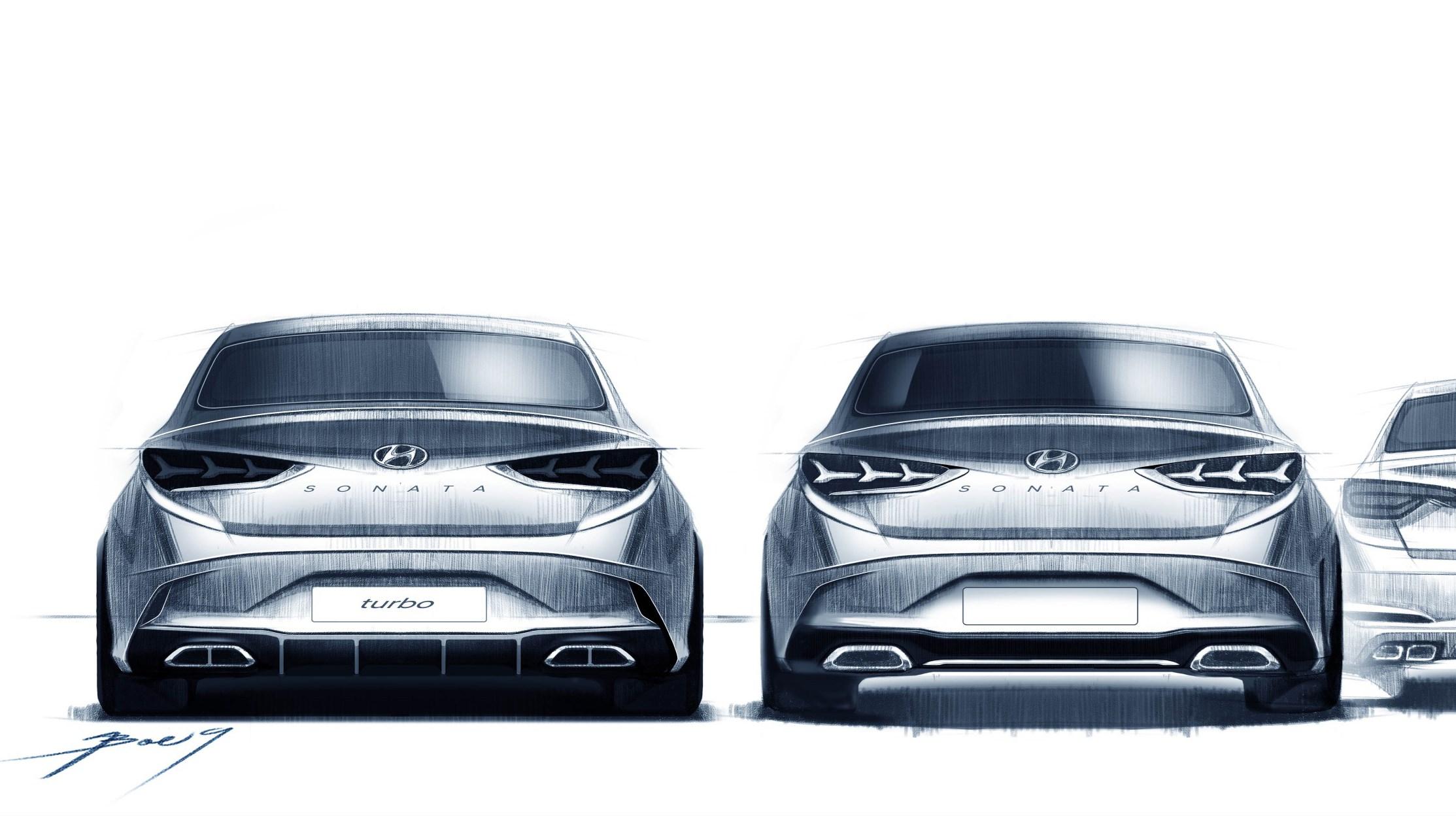 2018 hyundai sonata facelift.  facelift hyundai previews sporty new sonata update  inside 2018 hyundai sonata facelift