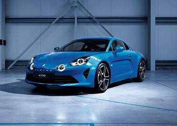 Alpine A110 Revealed Pre-Geneva
