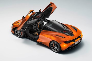 Leaked Pic Shows McLaren 720S Has F1-Style Doors