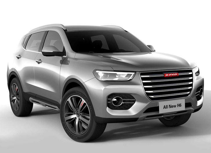 News Haval Reveals All New H6 Ahead Of Shanghai Debut