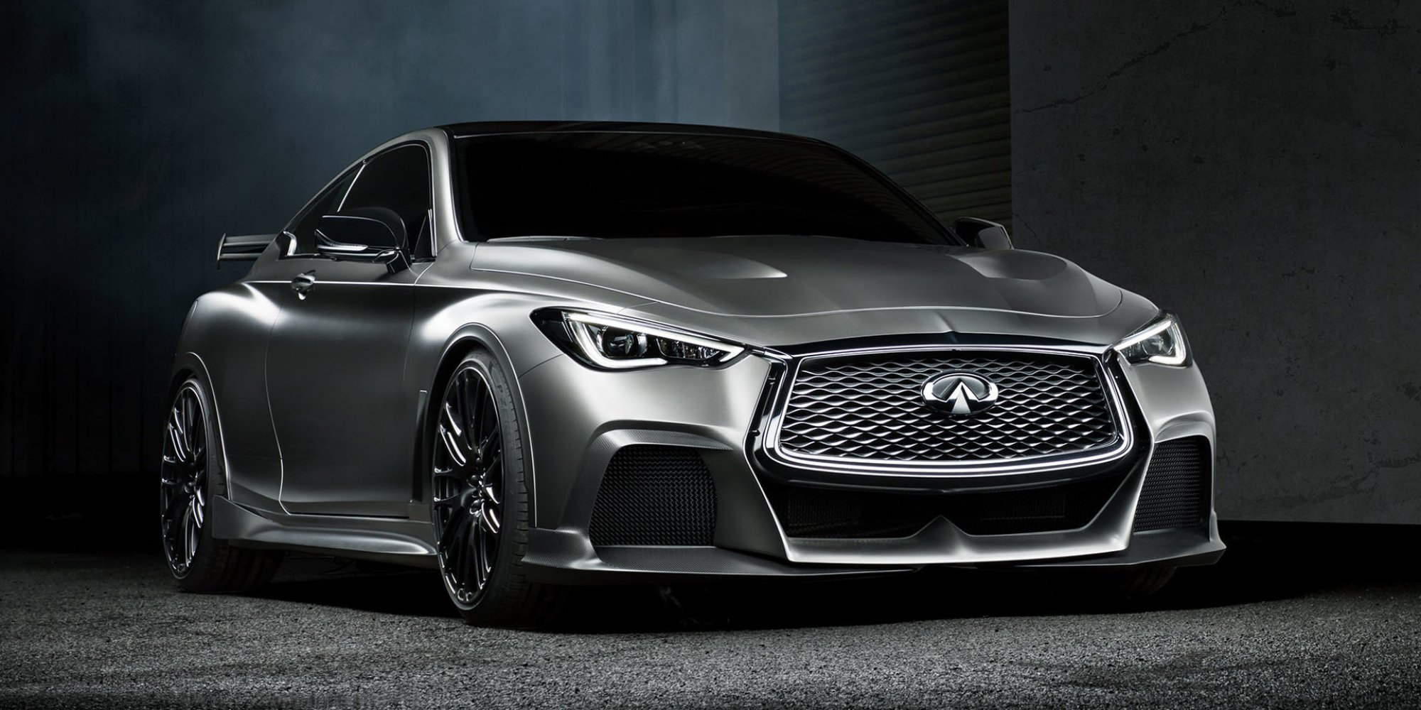 Infiniti Q60 Reviews >> News - 2017 INFINITI Q60 Black S Concept, A Renault F1 Road Car