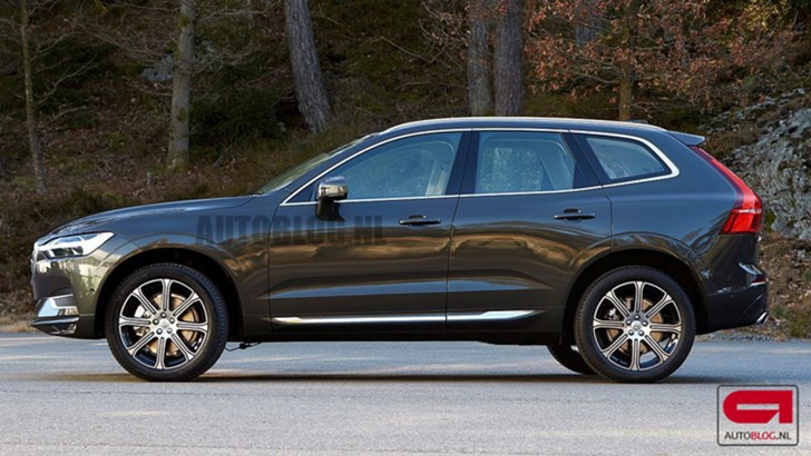 news - 2017 volvo xc60 outed?