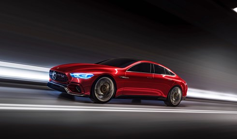 Mercedes-AMG GT Concept, Taking On The Best Supersports Saloons