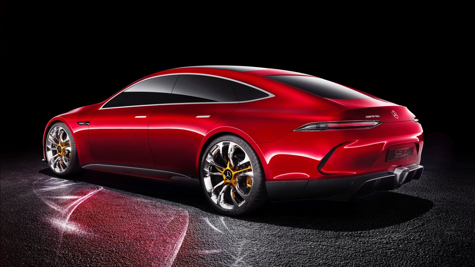 Mercedes-AMG GT Concept, Taking On The Best Supersports Saloons Thumbnail