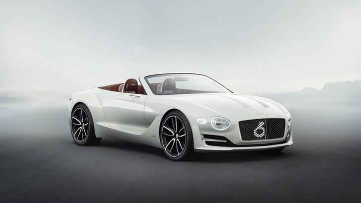 2017 Bentley EXP12 Speed 6e Concept