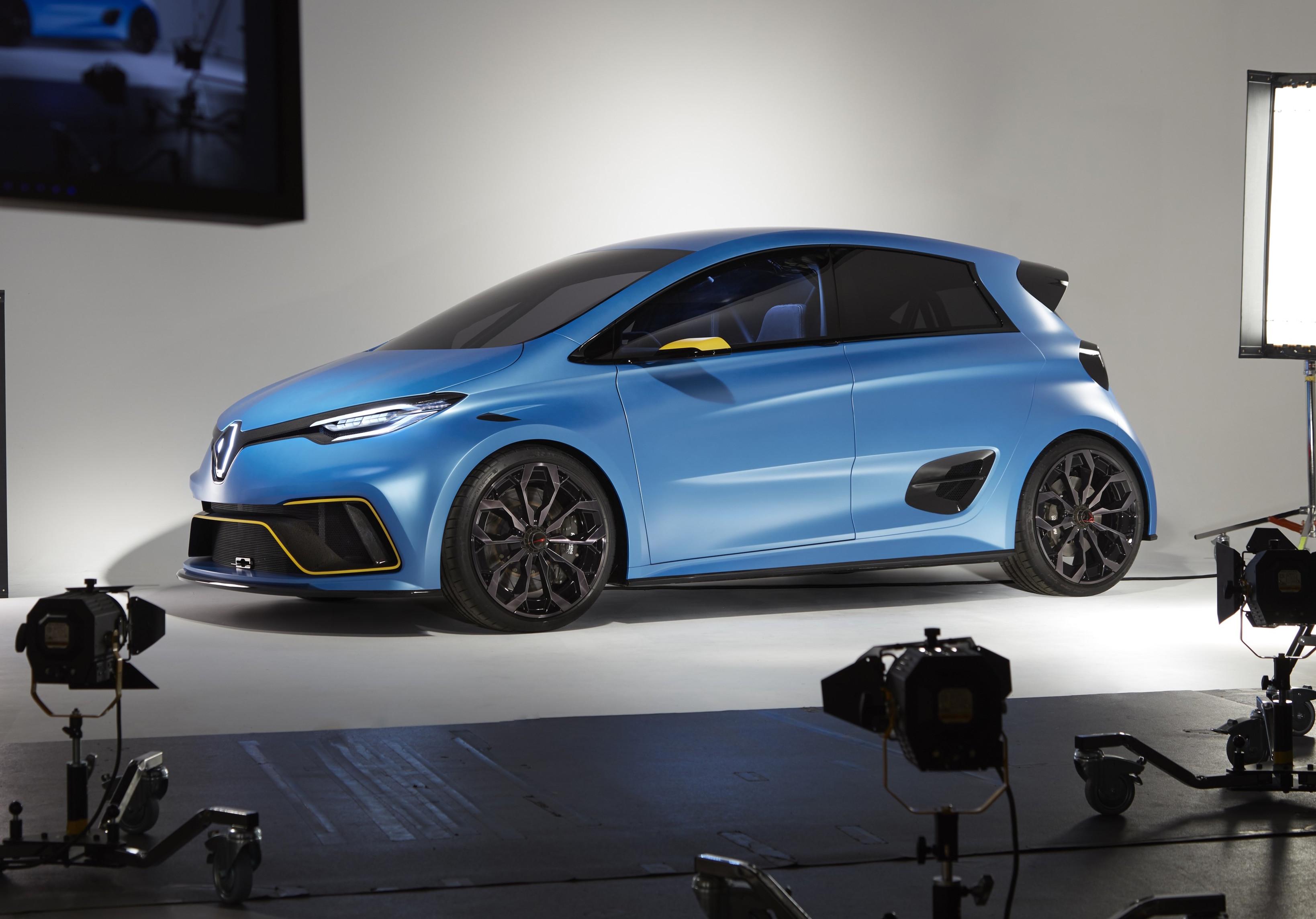 Mahindra Side By Side >> News - Renault's Zoe e-Sport Is A 340kW EV Racing Hatch