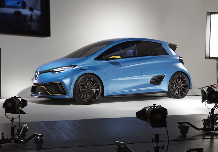 2017 Renault Zoe e-Sport - Geneva Motor Show