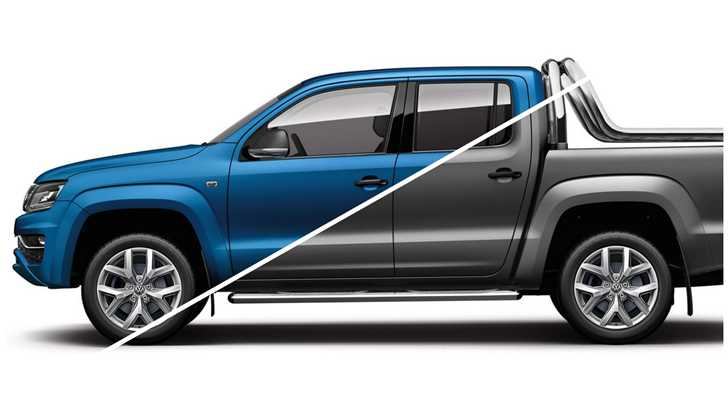 news 2017 volkswagen amarok ultimate v6 now in matte. Black Bedroom Furniture Sets. Home Design Ideas