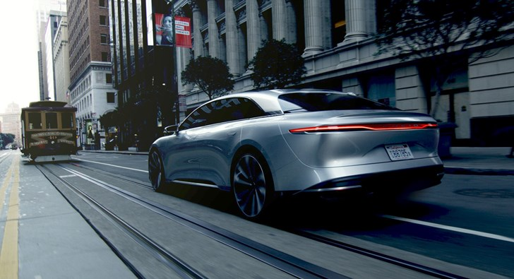2018 Lucid Air - San Francisco Drive