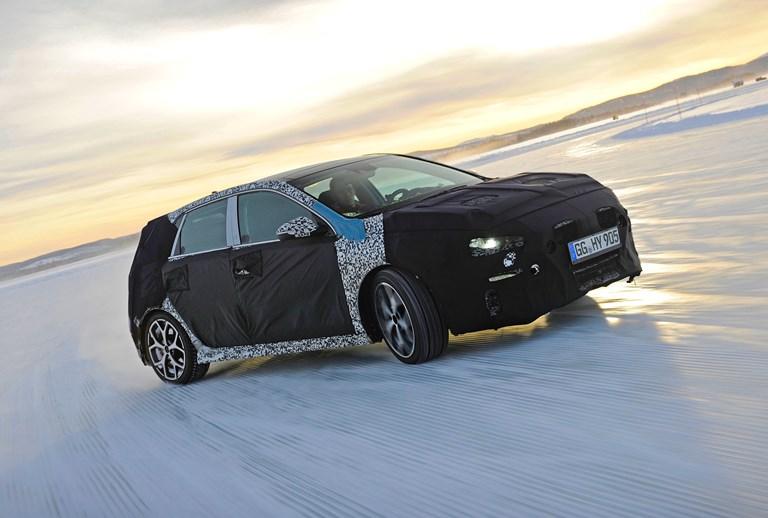 2017 Hyundai i30 N - Winter Testing