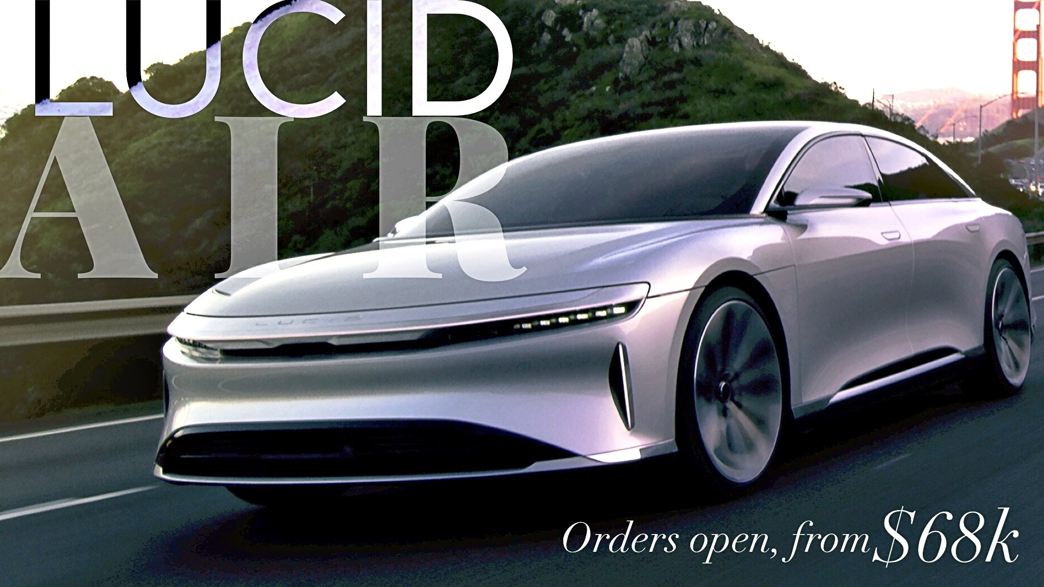Lucid Air On Sale Now For $68,000
