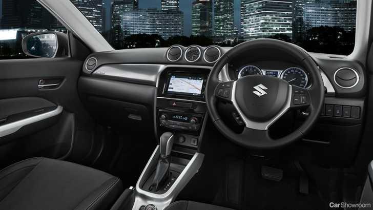 Interior 2017 Suzuki Vitara