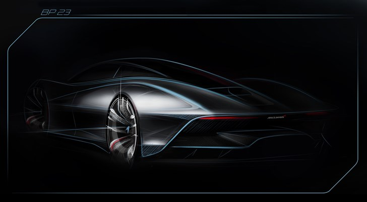 McLaren Teases Its BP23 'Hyper-GT' Due 2019