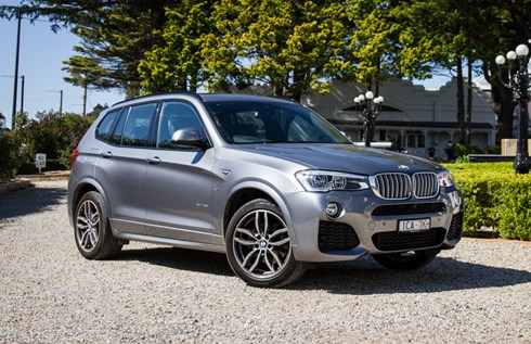 2017 BMW X3 - Review