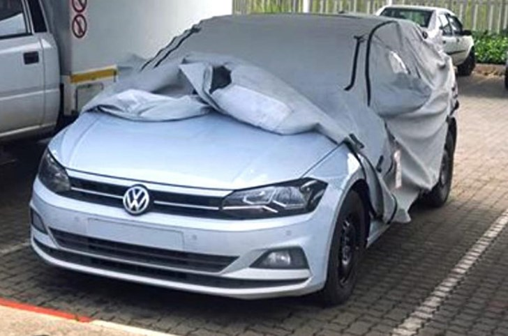 2017 Volkswagen Touareg & Polo Spied Undisguised
