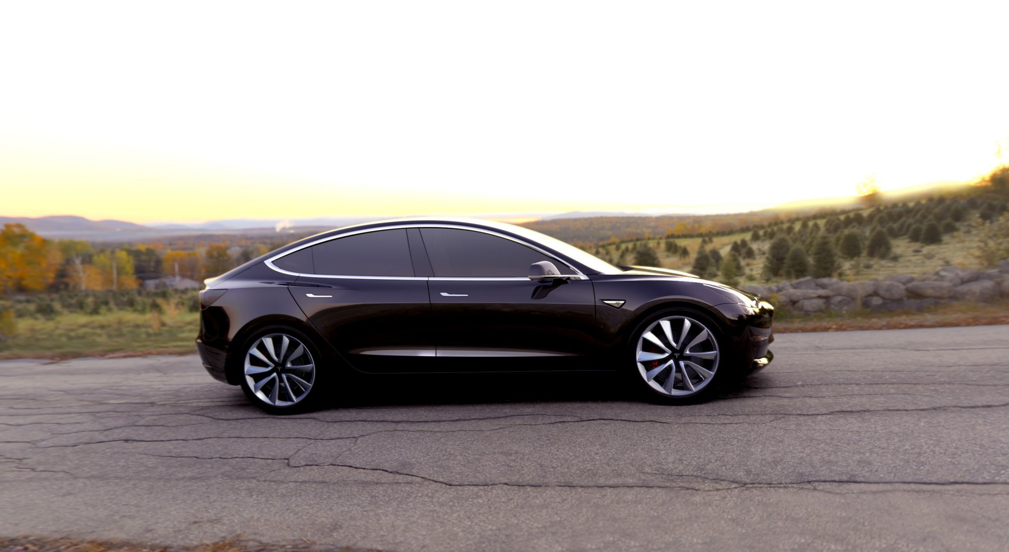 Aston Martin Bed >> News - Tesla Model 3 Almost Ready, Teased In Video