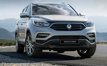 Ssangyong Reveals All-New Rexton In Seoul