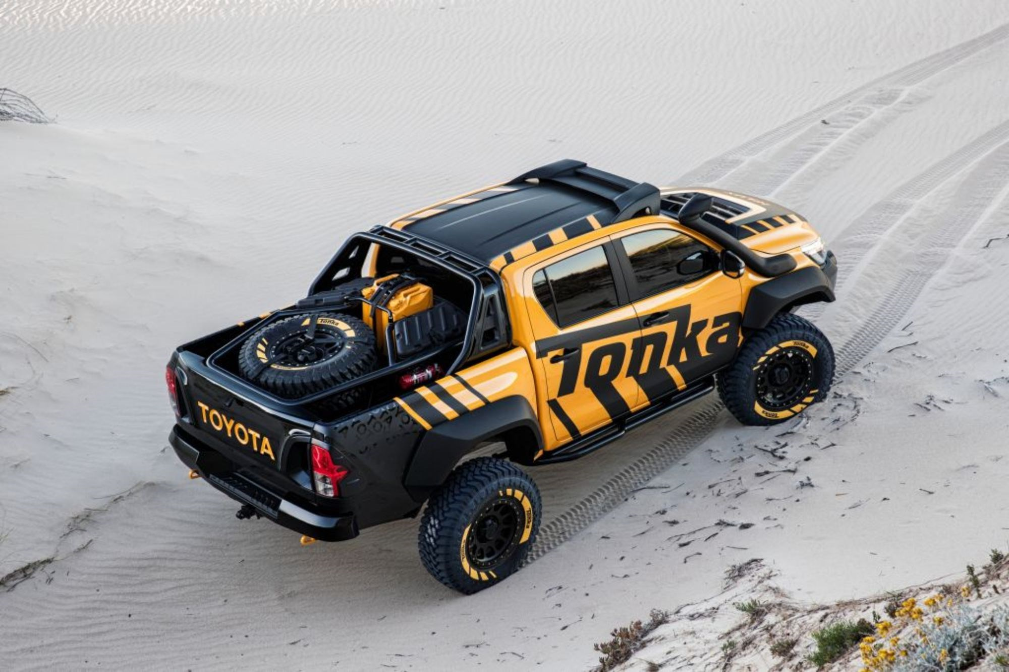 Toyota HiLux Concept Is A Full-Size Tonka Truck Thumbnail