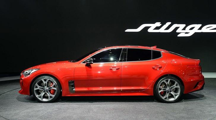 Kia Shows Off Stinger GT At Seoul Motor Show