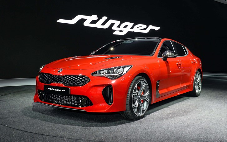 Kia Shows Off Stinger GT At Seoul Motor Show