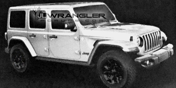 2018 Jeep Wrangler Outed