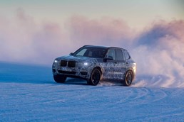 2018 BMW X3 - Winter Testing