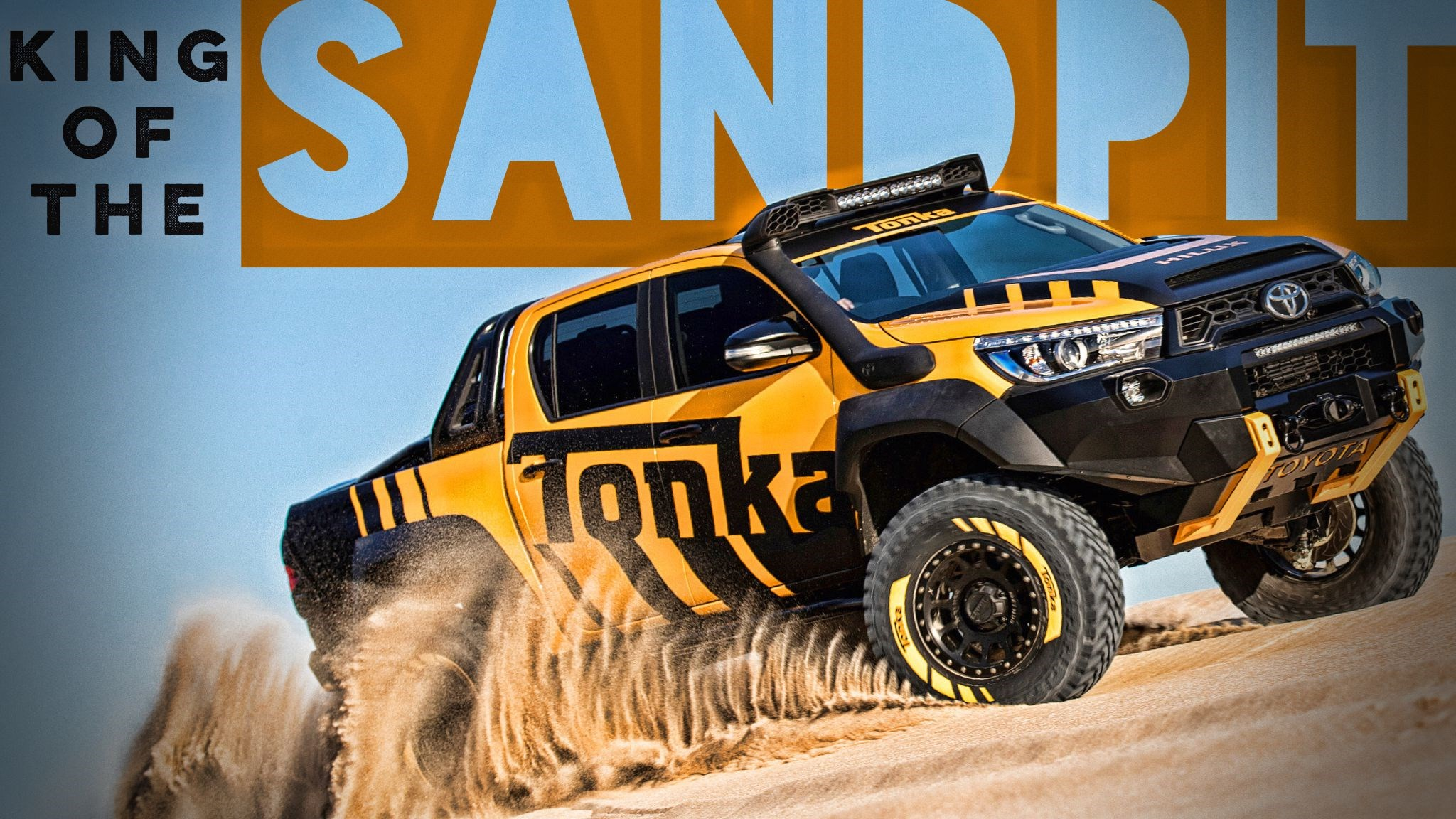 Toyota HiLux Concept Is A Full-Size Tonka Truck