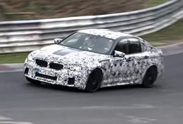 2017 BMW M5 - Nurburgring
