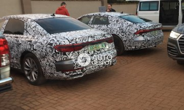 Next-Gen Audi A7 & A8 Spotted In South Africa