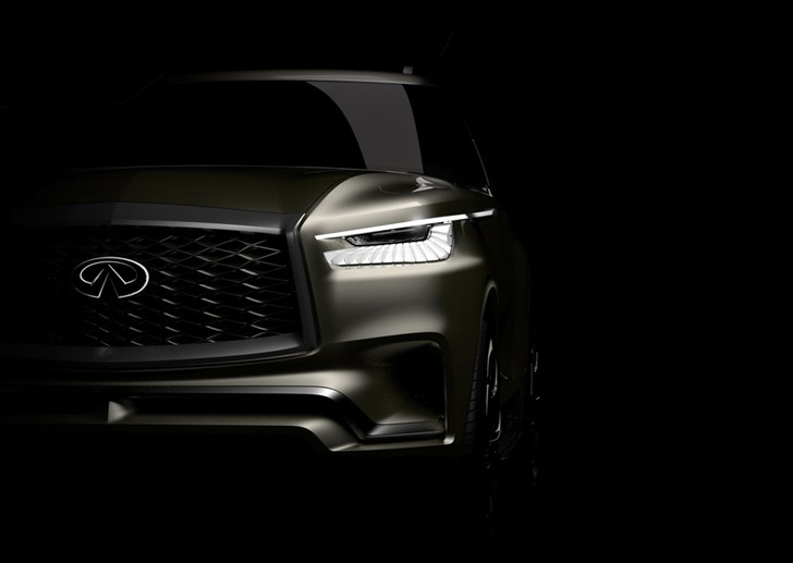 Infiniti To Preview Next QX80 In New York