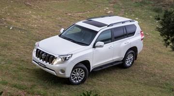 2017 Toyota Land Cruiser Prado Altitude