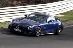 Revised Mercedes-AMG GT Seen Undisguised