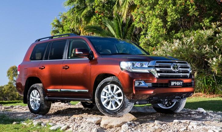 2017 Toyota Land Cruiser Sahara