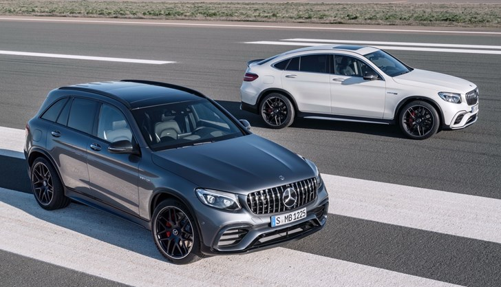 Mercedes-AMG GLC 63 & GLC 63 Coupe