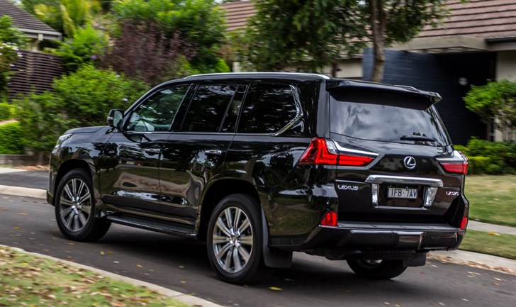 Car True Value >> Review - 2017 Lexus LX 570 - Review