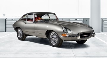 1965 Jaguar E-Type 4.2 Coupe Reborn