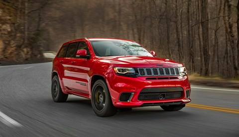 2017 Jeep Grand Cherokee Trackhawk