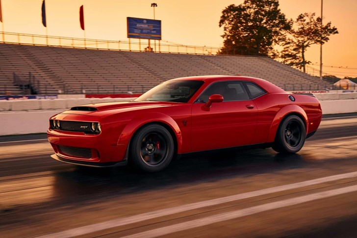 First Look At Dodge's Challenger SRT Demon