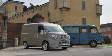 Citroen Type H 70th Anniversary Van Brings Back 40s Flair